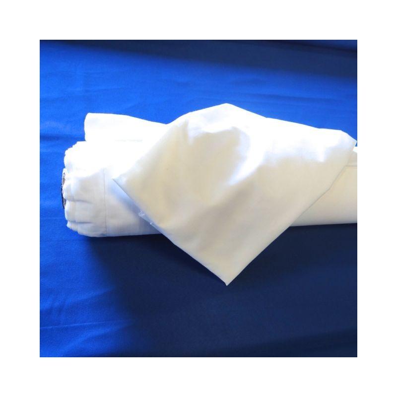 tissu 100 coton blanc 280cm ets ribas. Black Bedroom Furniture Sets. Home Design Ideas