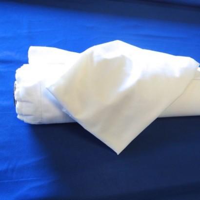 Tissu 100% Coton Blanc 280Cm