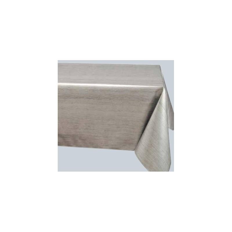 Protège Table Imprimée Lasure Gris