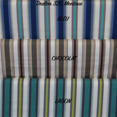 Tissu Dralon 320 cm Mentoue Bleu