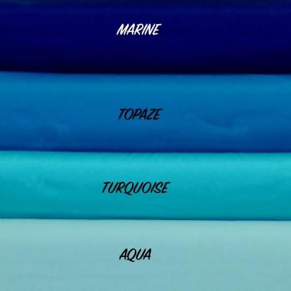 Tissu Dralon 320 cm Uni Bleu