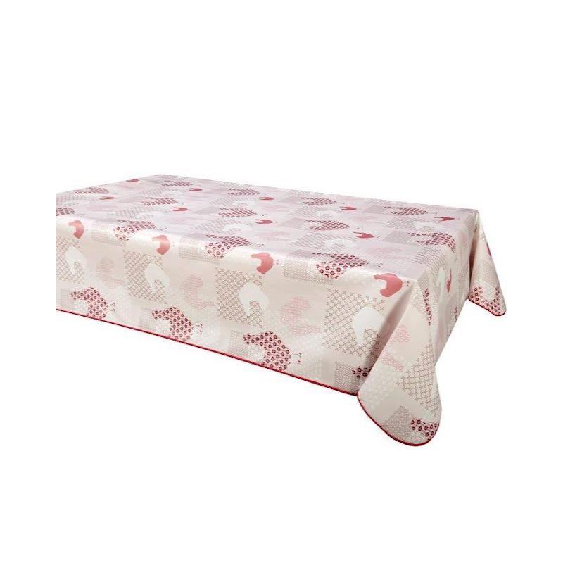 Protège Table Imprimé Cocotte Rouge