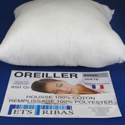 Oreiller 60X60 950gr