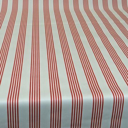 Tissu Enduit Cabana Rouge