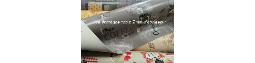 Protèges table imprimés